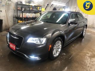 Used 2015 Chrysler 300 Limited * Leather Trimmed Bucket Seats * Dual-Pane Panoramic Sunroof  * Google Android Auto Apple Car Play Uconnect with 8.4inch display * Remote star for sale in Cambridge, ON