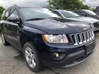 Used 2013 Jeep Compass Sport/North 4WD auto with Pwr Windows, Cruise, Air, Keyless Entry and Alloys with Fog Lights! for sale in Kemptville, ON