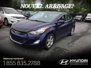 Used 2013 Hyundai Elantra GLS + TOIT + MAGS + FOGS + CRUISE + A/C for sale in Drummondville, QC