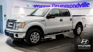Used 2013 Ford F-150 XLT + ECOBOOST + CREW + 4X4 + BLUETOOTH for sale in Drummondville, QC