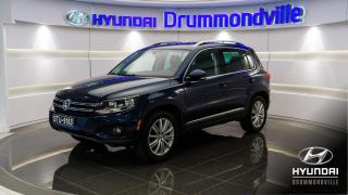Used 2015 Volkswagen Tiguan HIGHLINE + 4MOTION + CUIR + PANO + CAMÉR for sale in Drummondville, QC