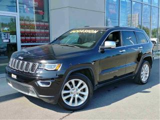 Used 2017 Jeep Grand Cherokee LIMITED TOIT 4X4 112$/Sem for sale in Ste-Agathe-des-Monts, QC