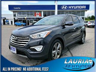 Used 2013 Hyundai Santa Fe XL V6 AWD Limited - 6 Passenger for sale in Port Hope, ON