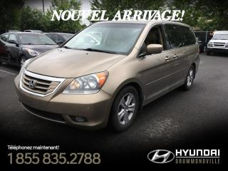 Used 2010 Honda Odyssey TOURING + NAVI + TOIT + CUIR + DVD + WOW for sale in Drummondville, QC