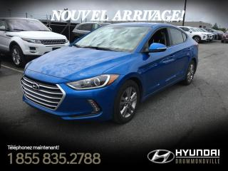 Used 2017 Hyundai Elantra GL + CAMÉRA + MAGS + BLUETOOTH + A/C + W for sale in Drummondville, QC
