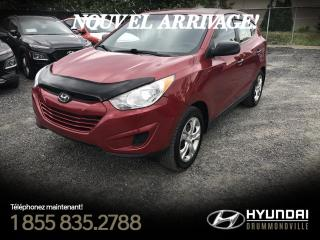 Used 2013 Hyundai Tucson GL + AWD + BLUETOOTH + MAGS + CRUISE + A for sale in Drummondville, QC
