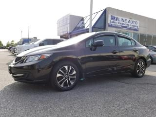Used 2013 Honda Civic EX SUNROOF|BLUETOOTH|ACCIDENT FREE|ALLOYS|CERTIFIED for sale in Concord, ON