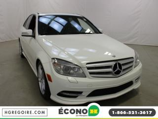 Used 2011 Mercedes-Benz C 300 AWD A/C GR for sale in St-Léonard, QC