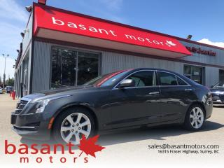 Used 2015 Cadillac ATS 2.0T, Backup Camera, Sunroof, Heated Seats! for sale in Surrey, BC