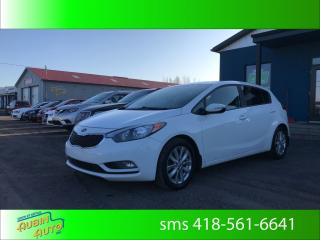 Used 2016 Kia Forte5 5 lx+ . démarreur a distance , air climati for sale in St-Agapit, QC
