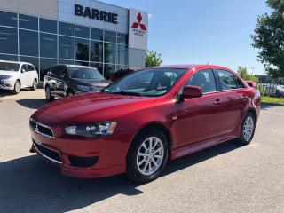 Used 2013 Mitsubishi Lancer SE for sale in Barrie, ON