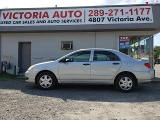 Used 2006 Toyota Corolla CE for sale in Niagara Falls, ON