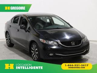 Used 2013 Honda Civic TOURING A/C CUIR for sale in St-Léonard, QC