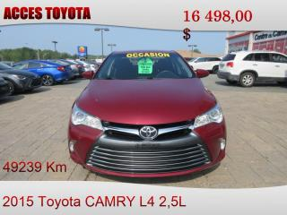 Used 2015 Toyota Camry for sale in Rouyn-Noranda, QC