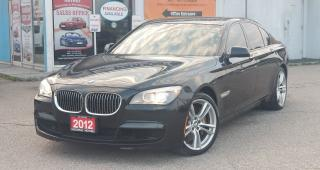 Used 2012 BMW 7 Series 750i xDrive - Fully Loaded, No Accidents for sale in Mississauga, ON