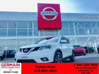 Used 2016 Nissan Rogue - PREMIUM - GPS - CAMÉRA 360 - TAUX AVANTAGEUX for sale in Donnacona, QC