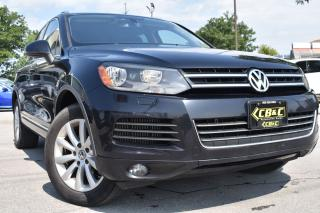 Used 2012 Volkswagen Touareg Comfortline - NAVI - NO ACCIDENTS - ONTARIO CAR for sale in Oakville, ON