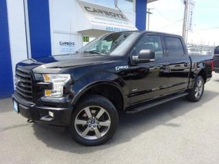 Used 2016 Ford F-150 FX4 Sport 4x4, Crew, Nav, 302A Pkg, One Owner for sale in Langley, BC