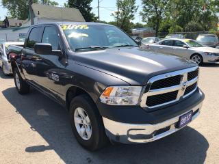 Used 2017 RAM 1500 ST, Crew Cab 4X4 for sale in St Catharines, ON