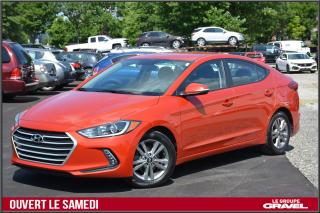 Used 2018 Hyundai Elantra Gl - Camera Recul for sale in Ile-des-Soeurs, QC