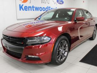 Used 2018 Dodge Charger GT AWD with power heated seats, push start/stop, and back up cam for sale in Edmonton, AB
