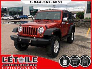 Used 2009 Jeep Wrangler X, TOIT  DECAPOTABLE for sale in Jonquière, QC