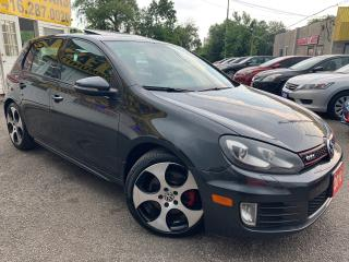 Used 2010 Volkswagen Golf GTI/ AUTO/ LEATHER/ SUNROOF/ ALLOYS/ LIKE NEW! for sale in Scarborough, ON