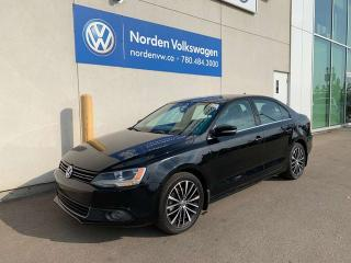 Used 2013 Volkswagen Jetta Sedan HIGHLINE 5SPD M/T W/ TECH PACKAGE! - LEATHER / NAVI for sale in Edmonton, AB