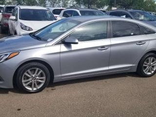 Used 2015 Hyundai Sonata 2.4L GL; BLUETOOTH, BACKUP CAM, HEATED SEATS AND MORE for sale in Edmonton, AB