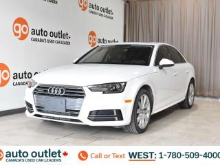 Used 2018 Audi A4 Sedan Komfort, Quattro awd, 2.0L I4, Turbo, Leather seats, Heated seats, Bluetooth, Navigation, Sunroof for sale in Edmonton, AB