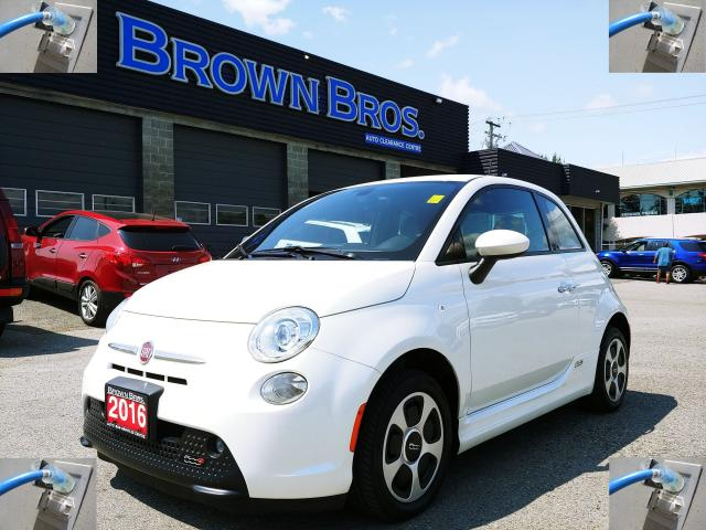 2016 Fiat 500 ELECTRIC, ACCIDENT FREE,