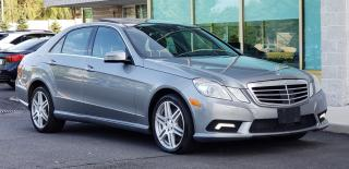 Used 2010 Mercedes-Benz E-Class Certified 2 year warranty E 550 4-Matic Nav Camera for sale in Mississauga, ON