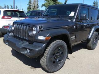 New 2019 Jeep Wrangler SPORT for sale in Edmonton, AB