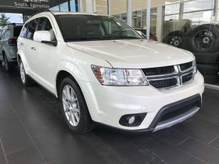Used 2013 Dodge Journey RT, ACCIDENT FREE, POWER HEATED LEATHER SEATS, HEATED STEERING WHEEL, KEYLESS IGNITION for sale in Edmonton, AB