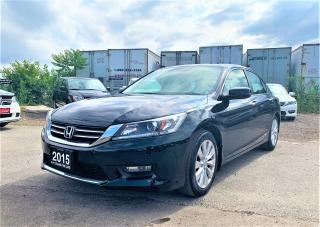 Used 2015 Honda Accord EX-L for sale in Brampton, ON