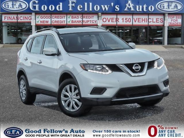 2016 Nissan Rogue S MODEL, AWD, REARVIEW CAMERA