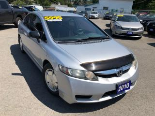Used 2010 Honda Civic DX-G for sale in St Catharines, ON