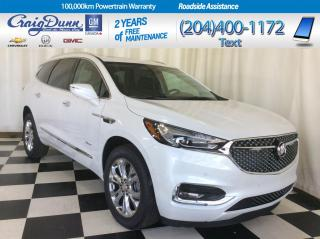 Used 2020 Buick Enclave * AVENIR AWD * NAVIGATION * VENTED FRONT SEATS * for sale in Portage la Prairie, MB