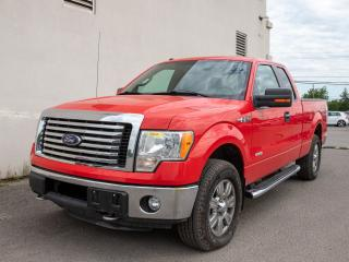 Used 2011 Ford F-150 XLT 4X4 CLIMATISEUR *GR. REMORQUAGE* for sale in Mirabel, QC