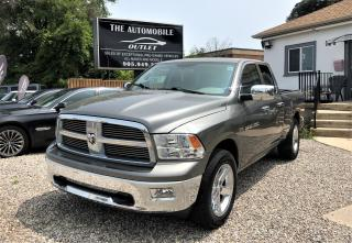Used 2012 RAM 1500 Big Horn for sale in Mississauga, ON
