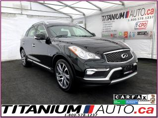 Used 2016 Infiniti QX50 AWD+GPS+360 Camera+Sunroof+Bose Sound+Park Sensors for sale in London, ON