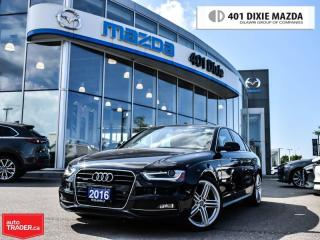 Used 2016 Audi A4 2.0TProgressiv+ quattro|ONE OWNER|NO ACCIDENTS for sale in Mississauga, ON