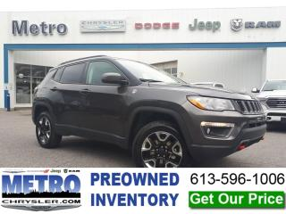 Used 2018 Jeep Compass Trail Hawk - Fully Loaded for sale in Ottawa, ON