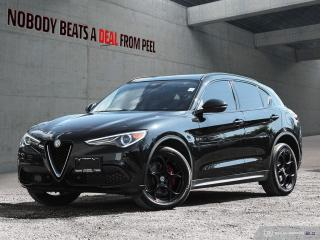 Used 2018 Alfa Romeo Stelvio Sport-Q4 Nero Edizione*Pano Roof*Driver Assist* for sale in Mississauga, ON