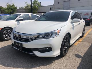 Used 2016 Honda Accord Sport, one owner, power roof, alloys for sale in Toronto, ON
