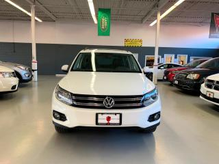 Used 2012 Volkswagen Tiguan COMFORTLINE *CERTIFIED* |LEATHER|PANO ROOF|AWD| for sale in North York, ON