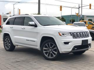 Used 2017 Jeep Grand Cherokee Overland for sale in Mississauga, ON