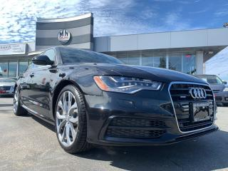Used 2015 Audi A6 3.0T Technik Quattro SuperCharged (Tiptronic) for sale in Langley, BC