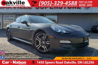 Used 2012 Porsche Panamera 4 | SUNROOF | NAVI | HEATED SEATS | TURBO WHEELS for sale in Oakville, ON