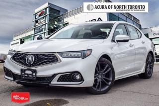 Used 2018 Acura TLX 3.5L SH-AWD w/Elite Pkg A-Spec Red No Accident for sale in Thornhill, ON
